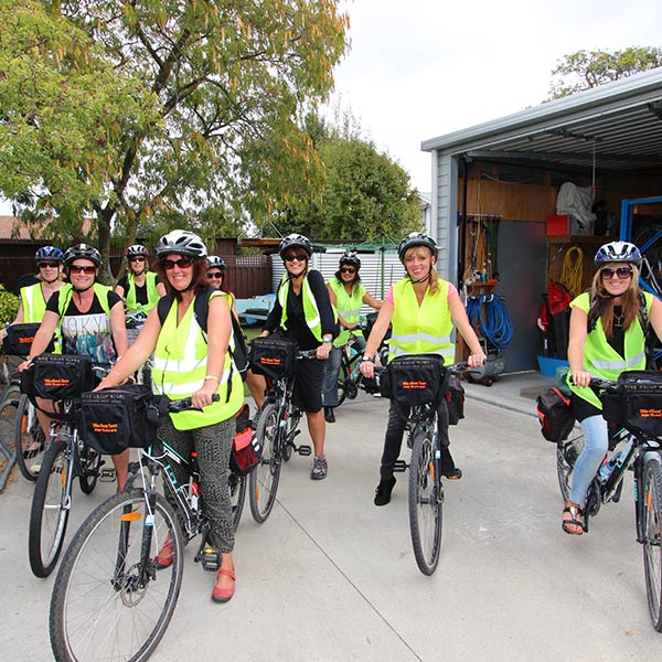 preparing for a hawkes bay winery tour by bike