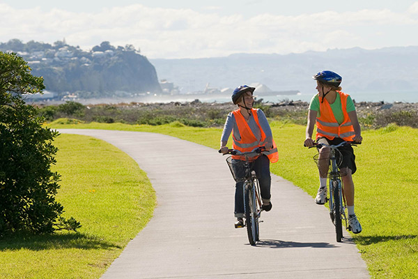 hire a bike in napier and enjoy a scenic tour along the coast
